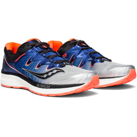 saucony Triumph ISO 4 Shoes Men Silver/Blue/VizRed